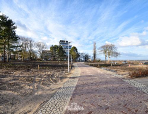 Vorderingen park Nijmegen